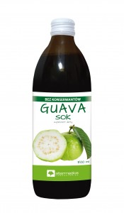 GUAVA sok 500 ml - suplement diety