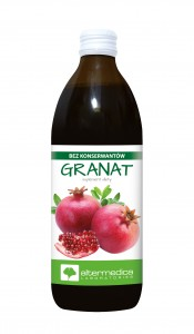 GRANAT sok z witaminą C 1000 ml DATA: 31.12.2020. suplement diety