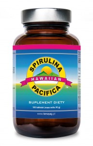 SPIRULINA PACIFICA 180TABL.500 mg suplement diety
