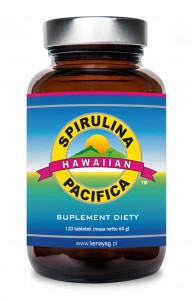 SPIRULINA PACIFICA 120 tabl. 500 mg - suplement diety