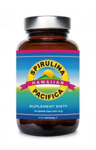 SPIRULINA PACIFICA 60 tabl.500 mg - suplement diety