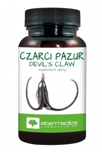 CZARCI PAZUR (Devil's Claw) 60 kaps. Data: 09.2020. suplement diety