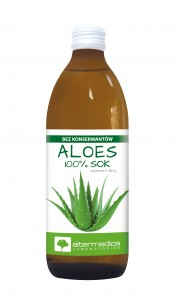 ALOES sok z aloesu 500 ml - suplement diety