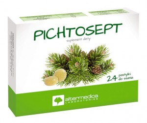 PICHTOSEPT 24 pastylki do ssania - suplement diety